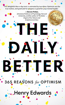 Amazon bestseller The Daily Better by Henry Edwards